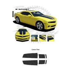 Chevrolet Camaro 2010-2013 Rally Stripes Graphic Kit - Carbon Fiber