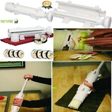 New Bazooka Sushi Roller Kit - Sushi Rolls Made Easy, all in 1 Sushi Making