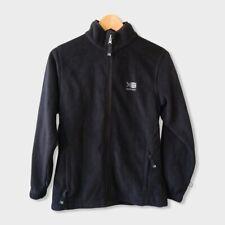 Karrimor Black Fleece Zip Jacket Outdoor Hiking Camping Size Small