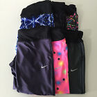 New Nike Women's Dri Fit Capris Yoga Running Gym Pants Tights Size M L MSRP $70