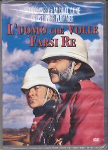Dvd L'UOMO CHE VOLLE FARSI RE con Sean Connery Michael Caine nuovo 1976