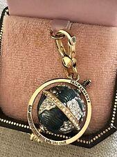 NIB Juicy Couture Globe World Planet Earth Bracelet Charm YJRU3873
