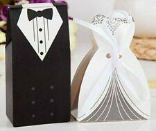 Gift Box-Bride & Groom-Wedding Theme-Uk FREEPOST - Pack of 5 Or 10 for £5.