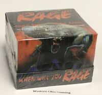 Rage The Werewolf Limited Edition Starter Deck Display Box NEW Trading Card Game