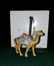 Lenox China Carousel Christmas Camel Ornament - New - 1989