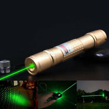 10 miles Green 1MW 532nm Powerful Handheld Laser Pointer Pen Light Beam Burning