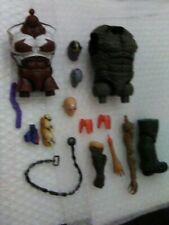 Marvel Legends Heads and BAF and Random  Parts LOT Thanos,Strong Guy,Mr Hyde ++