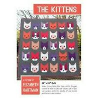 The Kittens, Quilt pattern by Elizabeth Hartman