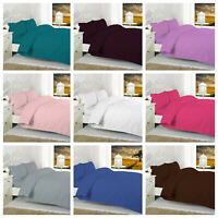 Luxury Cotton Rich Non Iron Percale-Duvet/Quilt Cover Set with Pillow case