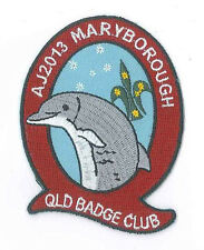 AJ2013 - AUSTRALIA SCOUT NATIONAL JAMBOREE - QUEENSLAND BADGE CLUB SCOUTS BADGE