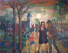 Joris HOUWENS (1925-1998) HsT Ecole belge Belgisch Expressionnisme Expressionism