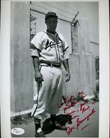 Joe Garagiola Original Signed Jsa Certed 8x10 Photo Autograph Authentic