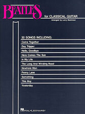 The Beatles Guitarra Clásica aprender a jugar Ayer Pop Rock Etiqueta música Libro