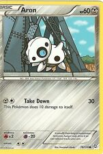 POKEMON BLACK & WHITE DRAGONS EXALTED - ARON 78/124