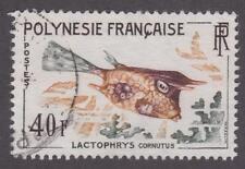 French Polynesia 1962 #202 Tropical Fish - Used