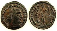Imperio Romano-Licinio I. Follis 313 d.C. Heraclea. EBC/XF. Cobre 3,7 g.