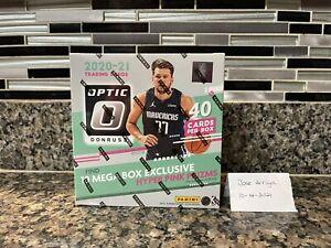 2020-21 Panini Donruss Optic Basketball Mega Box NEW FACTORY SEALED Hyper Pink🔥