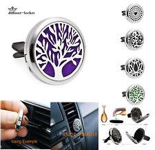 316L+zinc alloy Car Mini Vent Clip Air Freshener Essential Oil Diffuser locket