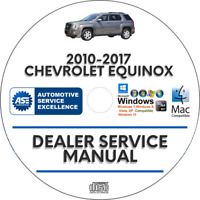 Chevrolet Equinox 2010-2017 Factory Service Repair Manual