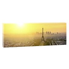 Panoramabild Paris Leinwand Kunstdruck modern Design XXL 150 Cm* 50 Cm 089