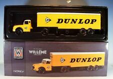 Norev 1/43 Camions Willeme Ld610 Sattelzug Dunlop OVP #3995