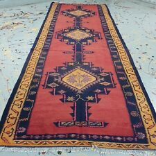 antique large runner rug 4.79ft * 13ft handwoven turkish vintage kilim rug