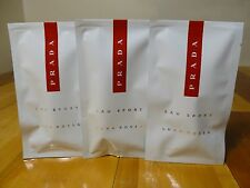 PRADA LUNA ROSSA L'EAU SPORT EAU DE TOILETTE sample  Amazing fresh GET 3 SAMPLES