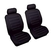 SUZUKI VITARA LWB 89-99 Black Front Leather Look Car Seat Covers Airbag Ready