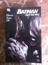BATMAN FACE THE FACE PAPERBACK SOFT COVER FIRST PRINTINF VERY FINE (B22)