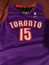 Toronto Raptors Vince Carter Purple/Black Throwback Swingman Jersey Size  XXL