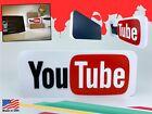 Youtube Decoration Sign