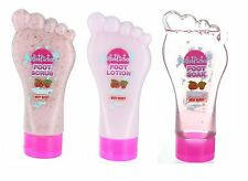 The Foot Factory Cooling Very Berry Scrub Soak Lotion For Feet That Need Life