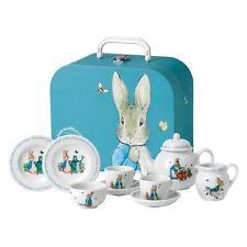 WEDGWOOD BEATRIX POTTER PETER RABBIT CHILDREN'S TEA SET #40001418 BRAND NIB F/SH
