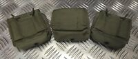 IDF Military Tactical Ammo / Ammunition Pouch X 3 Web / Codura G2 - Olive Green
