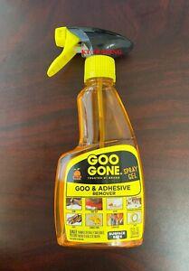GOO GONE Original ADHESIVE Glue Gum Remover ~ Fresh Citrus & Surface Safe 12Oz