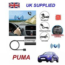 For Ford PUMA Bluetooth Hands Free Phone AUX Input MP3 USB Charger Module 12 Pin