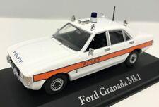ATLAS BRITISH POLICE CARS 1/43 FORD GRANADA MKI MK1 AVON & SOMERSET POLICE CAR