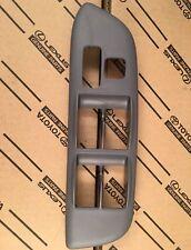 01 - 05 TOYOTA RAV4 DRIVER MASTER POWER WINDOW SWITCH BEZEL TRIM GREY OEM NEW