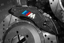 x6 BMW M Sport Logo Premium  Vinyl Brake Caliper Decals - Original