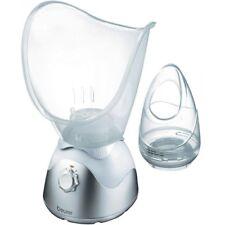 Beurer FS 50 Bianco-Argento SAUNA FACCIALE REGOLABILE ASPIRAZIONE quantità di vapore