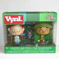 Funko Vynl ~ The Wizard of Oz 3 PACK  ~ Dorothy ~ Toto the Dog and The Scarecrow