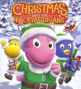 Christmas with the Backyardigans animated kids' TV episodes, new DVD Nick Jr PBS