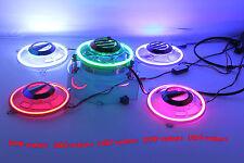 【UOP】Yamaha  ZUMA 125 chrome fan cover decoration with COB (LED) angel lights