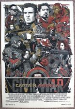 Marvel Captain America: Civil War variant print by Tyler Stout numbered