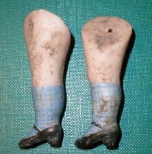 """Antiguo piernas para la fijación de alambre de muñeca casa de muñecas 2.08"""""""