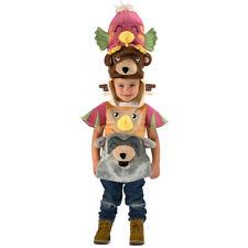 Kids Totem Pole Halloween Costume size 4 XS