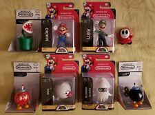 "World Of Nintendo 2.5"" Super Mario Figures Lot Bundle"