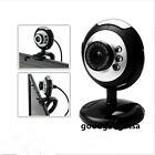 5.0 Mega USB 6 LED Webcam Web Cam Camera + Mic Micphone for Laptop Mac Skype GA