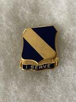 Authentic US Army 51st Infantry Regiment DI DUI Crest Insignia D-22