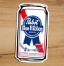 PBR Pabst Blue Ribbon Beer Premium Quality Vinyl Sticker Decal 3x2